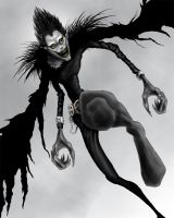 Ryuk by maskedmayhem