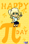 Pi Day... This is 2 weeks late (Has Speedpaint!) by TheDrawingMorgs