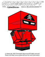 Cubeecraft - Red Shadow 'Action Force' by CyberDrone
