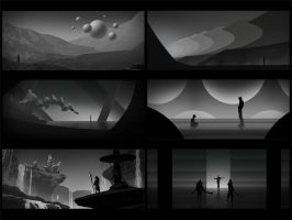 Environment sketches 7 by pav327