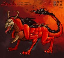 Fire Chimera by Garvals