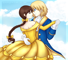 Beauty and the Beast by Shinjukou