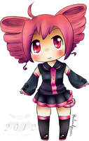 Teto Kasane Chibi by TheLonelyQueen