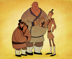 Mulans boys by ChankaMuffin