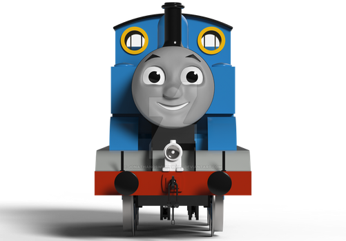 Thomas the Tank Engine 3D Model Update Number 5 by JonathanOswinOswald