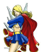 Supergirl by Carlo Barberi by Prof-KOS