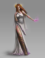 Imbril, Goddess of Chance by BABAGANOOSH99