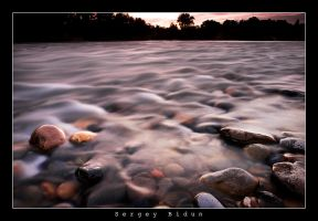 American River after Sunset 2 by sergey1984