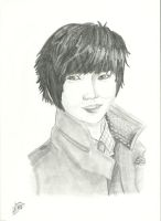 Yesung (super junior) to a friend by Victoriaa1