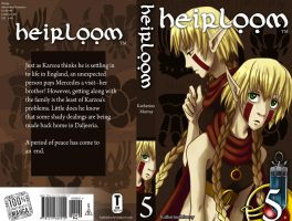 Heirloom Cover - Book 5 by Kuthinks