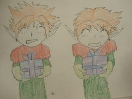 Christmas Twins: Colored by ginger-rock