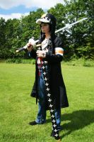 Trafalgar D. Water Law cosplay (Dressrosa arc) by Maria-M--aka--Bakura