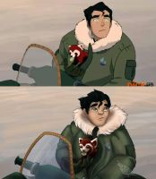 Draw This Scene in Your Style: Bolin and Pabu by Ski-Machine