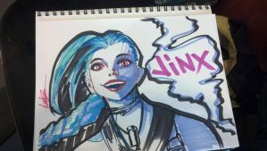 A wild Jinx appeared by Spiffeigh