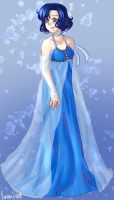 Sailor Mercury's Princess Dress by varaa