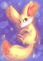 Fennekin by Little-Miss-Boxie