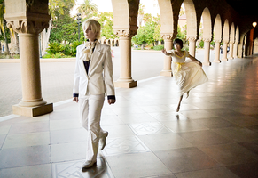 Tamaki and Haruhi Cosplay | Ouran Finale 6 by CosplayInABox
