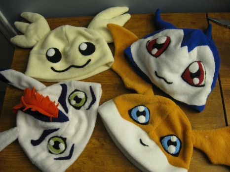 DIGIMON by red-eye-tree-frog