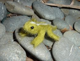 Tuatara (Needle Felted) by Seamarie