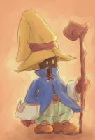 .:the Black Mage:. by yume-utsutsu