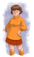 Sketch Daily - Velma Dinkley by DionysiaJones