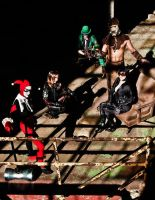 Arkham Group Shot 2 by ComfortablyEccentric