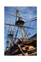 HMS Victory No3 by unclejuice