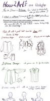 How to Art 010 - Workshop - A Blouse by SeraphicMayin