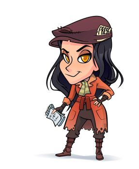 Piper Chibi by Sodano