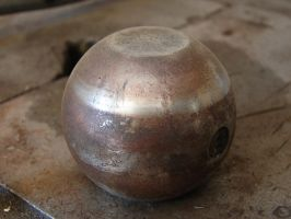 Rusty Metal Ball Thingy by FantasyStock