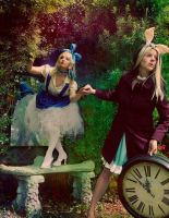 This Way Follw Me Alice by KristiinaKryptonite
