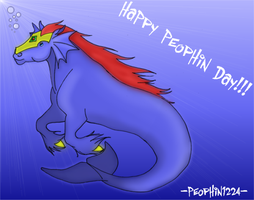 Peophin Day Entry by Silent-Hoofbeats