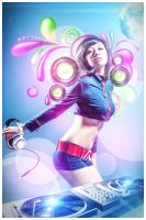 Let's party girl by jaxpc