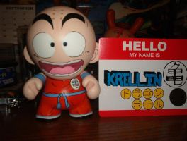 Krillin Munny pose 1 by RetroRobotMachine