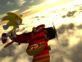Gmod Sonic and Tails by lkhrizl