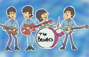 The Beatles...again XD by SomaShiokaze
