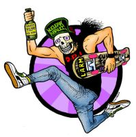 skate,beer and thrash by skitdotterror