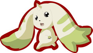 Terriermon by the-candy-wolf