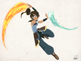 Korra by chillyfranco