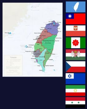 Taiwanese Commonwealth of Independent States by PolandStronk
