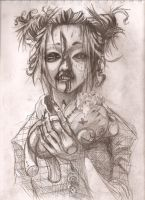 Asian Zombie by negative-disposition