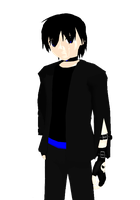 [MMD] D's Old Outfit by khftw