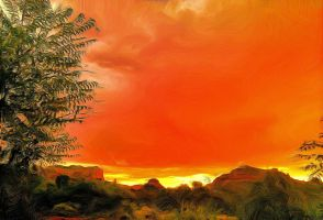 Sedona Sunset by montag451