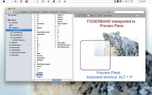 Folderband to PreviewPane by ZEUSosX