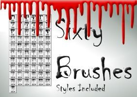 60 Original Liquid Brush Set by ThaMex4lif3