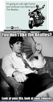 Disapproving Paul Strikes Again by TheOriginalBeatleBug