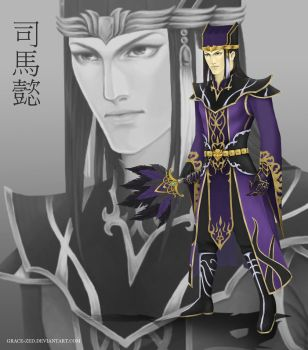 Sima Yi REDESIGN by Grace-Zed