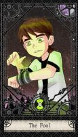 Ben 10 Tarot- 0. The Fool by CheshireP