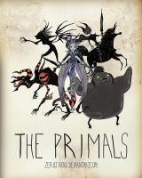 The Primals: Tim Burton style by ZeroJigoku
