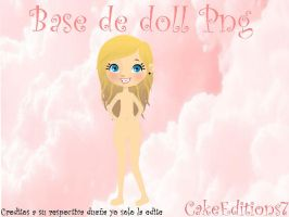 Base de doll png by CakeEditions7